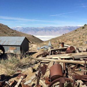 Cerro Gordo Ghost Town.