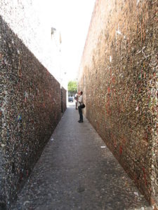 Tourists always find the alley a lot more interesting than the locals.