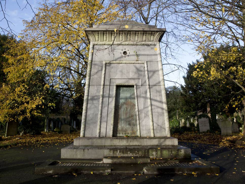 Brompton Cemetery: The sealed mausoleum believed to be a fully-functioning time machine