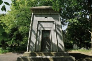 Stories abound that this tomb could house a Victorian-era time machine – or, even stranger, an occult teleportation device