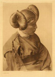 Hopi girl, 1922.
