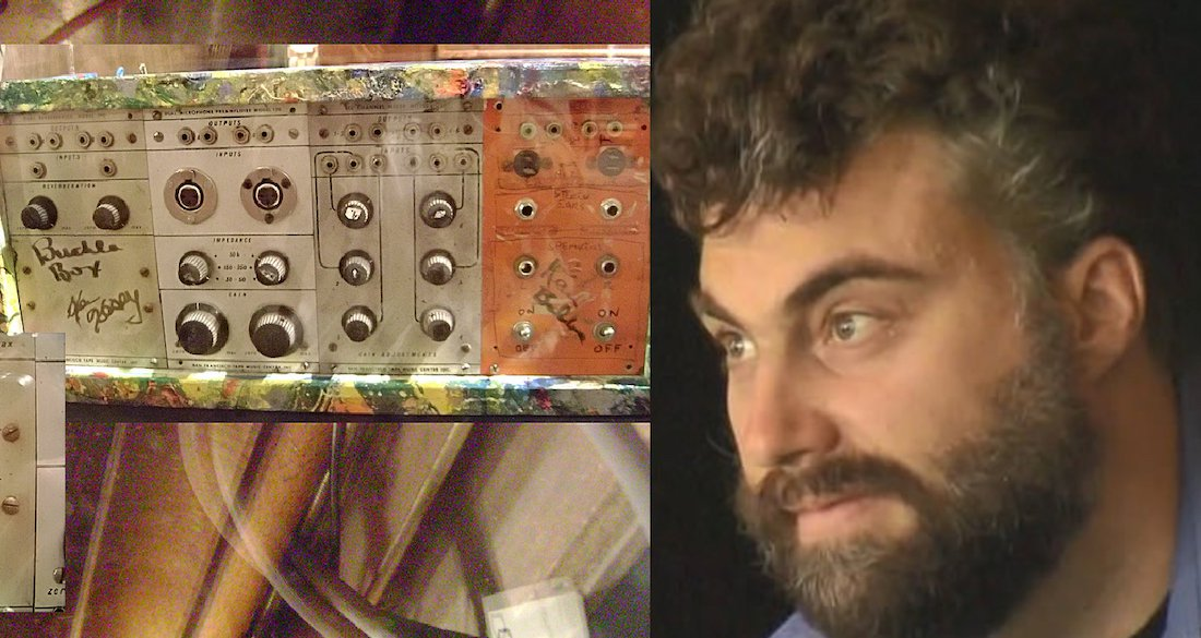 Engineer Unwittingly Trips Balls On LSD From The '60s While Repairing Iconic Synth