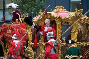 John Stuttard, Lord Mayor of the City of London 2006–2007, during the Lord Mayor's Show of 2006.
