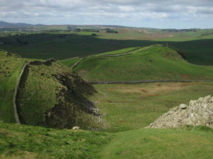 Hadrian's Wall, also called the Roman Wall, was a defensive fortification in the Roman province of Britannia and the northeren border of the Empire.