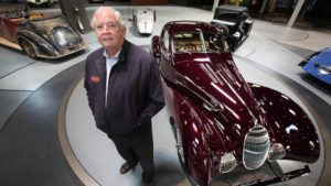 In January 2010 Peter Mullin of the Mullin Automotive Museum in Oxnard, California bought the car for around $370,000.