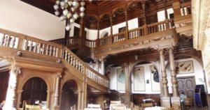 Interior of the castle.