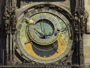 Astronomical dial.