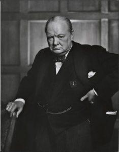 Winston Churchill in 1941.