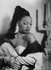 Photo by Rudolf Suroch of Josephine Baker. Havana, Cuba. 1950