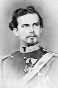 Photograph of King Ludwig II of Bavaria