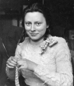 Freddie Oversteegen in the spring of 1945.