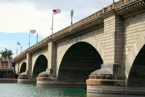 London Bridge at home in Lake Havasu City, Arizona.