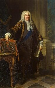 Sir Robert Walpole, considered to be Britain's first prime minister.