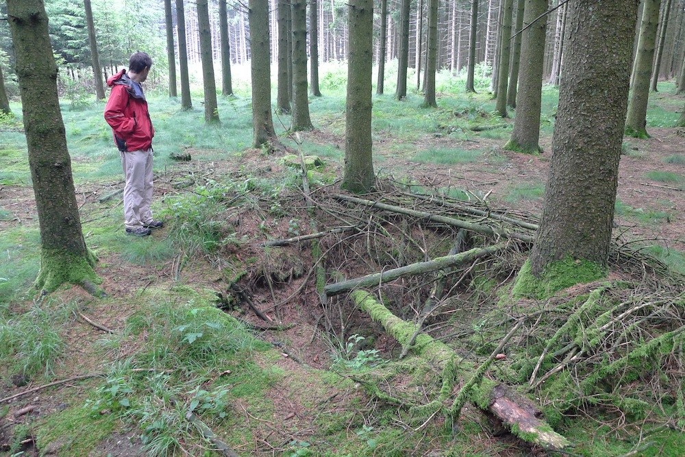 Hidden World War II Battlefields Reveal Germans' Tactics