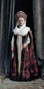 Madame Tatischeva. Colorization by Olga Shirnina