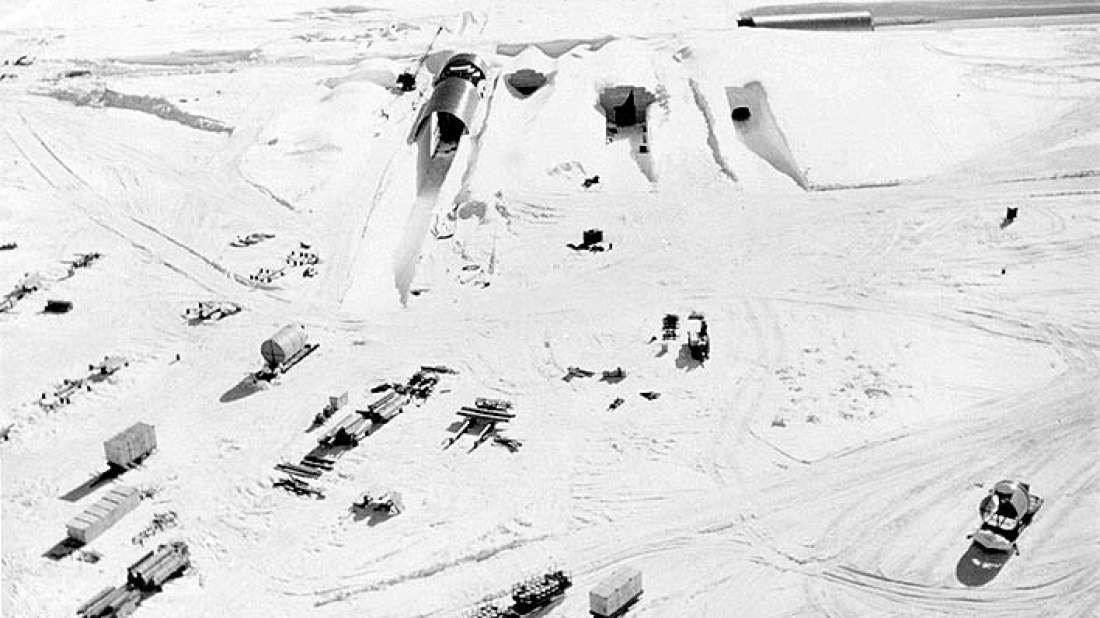 Melting Ice Sheets Could Reveal Top Secret US Cold War Nuclear Base