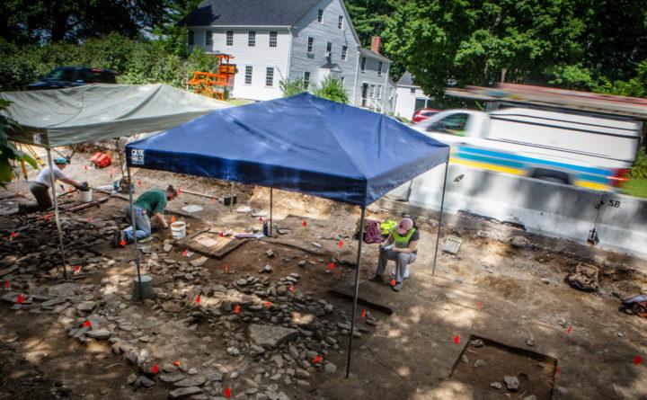 Eighteenth-Century Fort Excavated in Maine