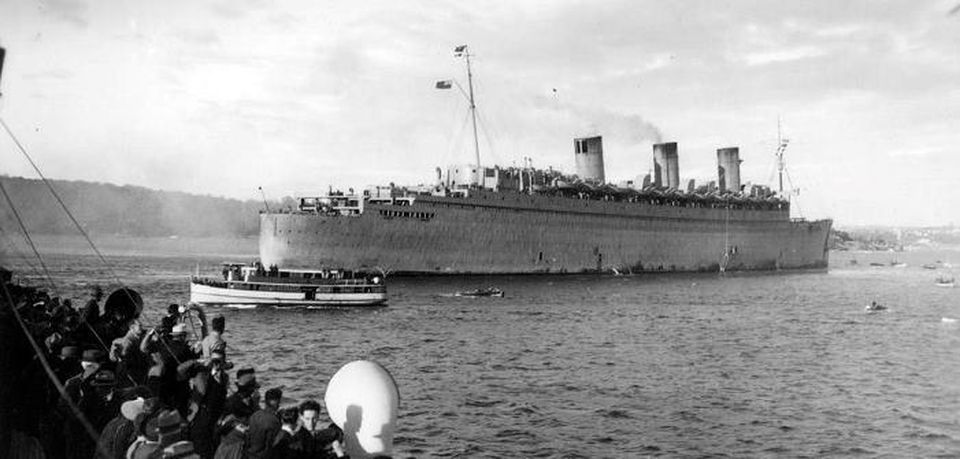 The Terrifying Haunted History Of The Queen Mary
