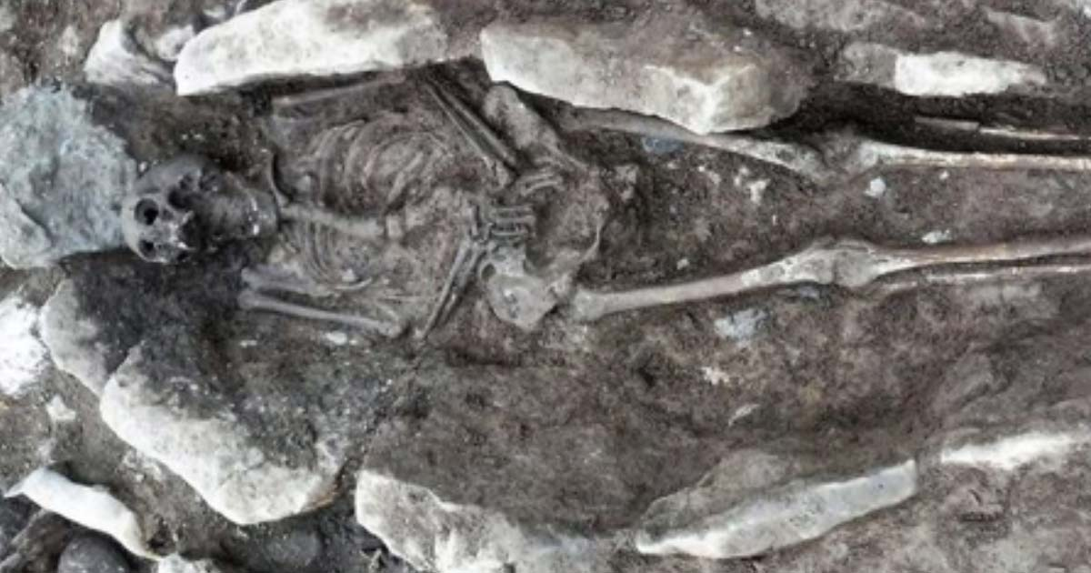 86 Skeletons Unearthed from Hidden Medieval Graveyard in Wales