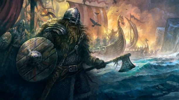 What made the Vikings so superior in warfare?