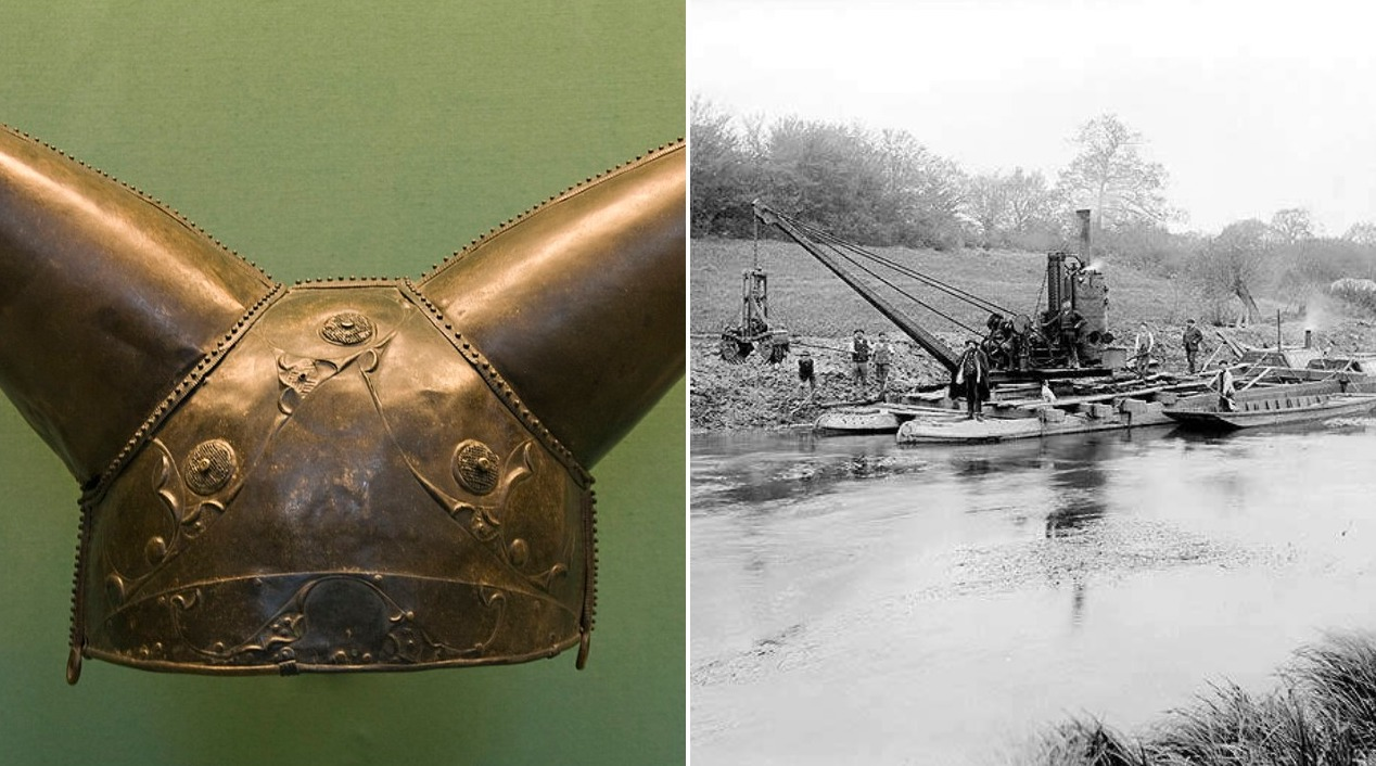 In 1868 Workers Were Dredging This River When They Discovered An Incredible 2,000-Year-Old Relic