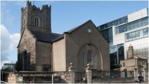 St. Michan's Church as seen from Church Street.