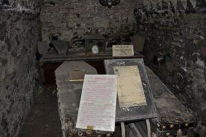 St Michan's Church crypt.