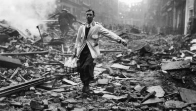 "World War II: The Story Behind ""The London Milk man"" One of the Most Iconic Images of the Blitz"
