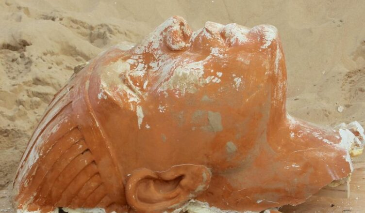 Archaeologists in California Unearth a Large Sphinx—From the Set of 'The Ten Commandments'