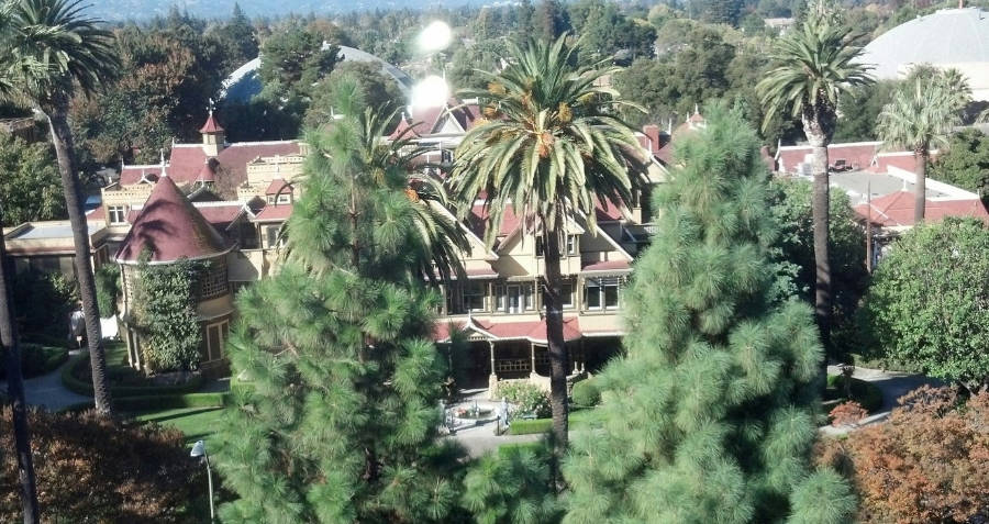 Real Ghost Stories: Winchester Mystery House, San Jose, California.