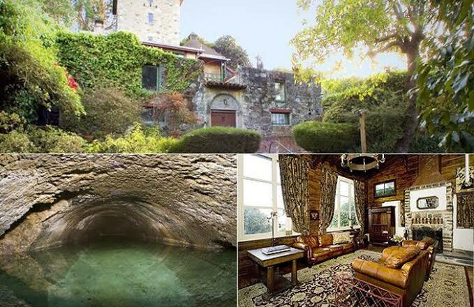 There's A 'Haunted' 149-Year-Old Million-Dollar Castle Hidden In San Francisco With Underground Caves