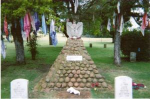 Geronimo's grave at Fort Sill, Oklahoma
