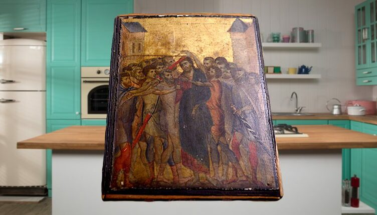 Masterpiece by 13th century Italian painter Cimabue found in French woman's kitchen