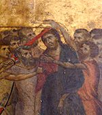 Close up of the painting