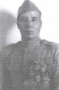 Image of World War I hero Marcelino Serna