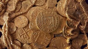 Rare coin hoard worth $1m discovered by treasure hunters off the coast of Florida