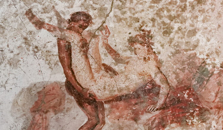 Ancient Erotica: Pornographic Pompeii wall paintings reveal the raunchy services offered in ancient Roman brothels 2,000 years ago