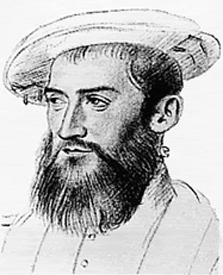 Portrait of the French Mariner, Jean Ribault (1520 – 1565)
