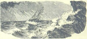 Ribault is wrecked on the coast of Florida