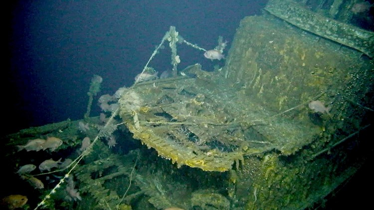 Sunken WW2 submarine discovered off the coast of Japan after 75 years