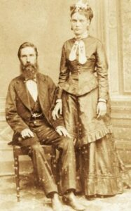 Confederate immigrants Joseph Whitaker and Isabel Norris.