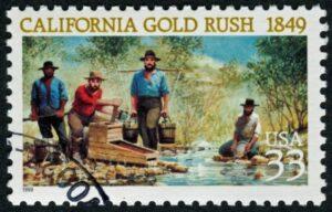 California Gold Rush Stamp
