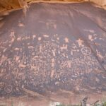 """The Rock That Tells a Story"": Native American petroglyphs in Utah and Arizona depict lives of centuries ago"