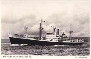 The SS Cotopaxi