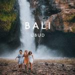 walking next to tenegungan waterfall in bali ubud island life friends came to visit