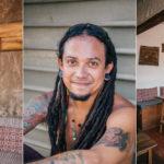 el salvador el tunco surf beach town sunset bright colours stones pacific coast healthy cafe juice local
