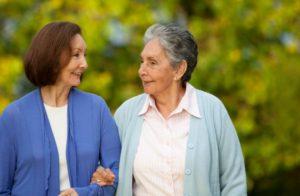 Speaking to Elderly