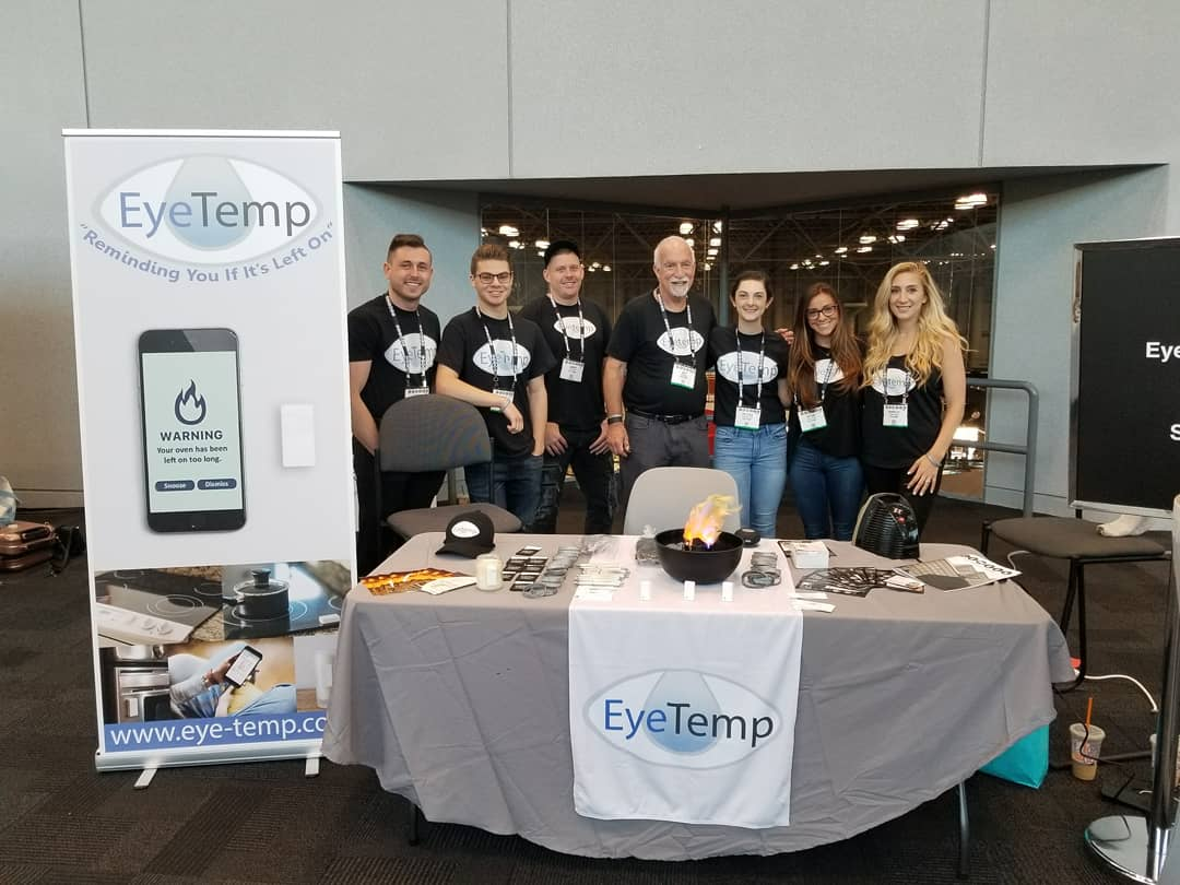 Celebrating the Launch of Eyetemp at CE Week 2018!
