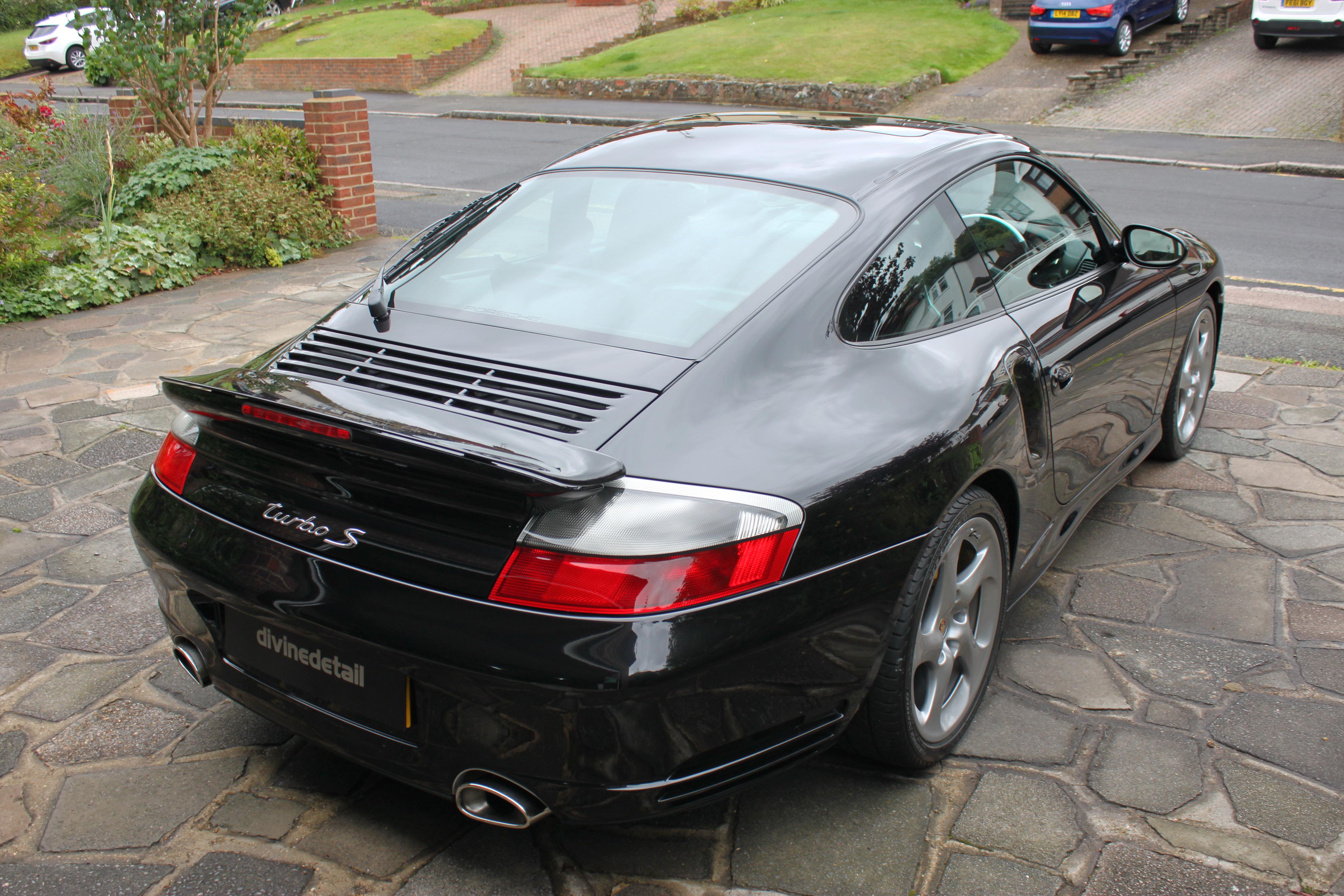 Porsche 911 Turbo S detail