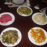 multi dish meal
